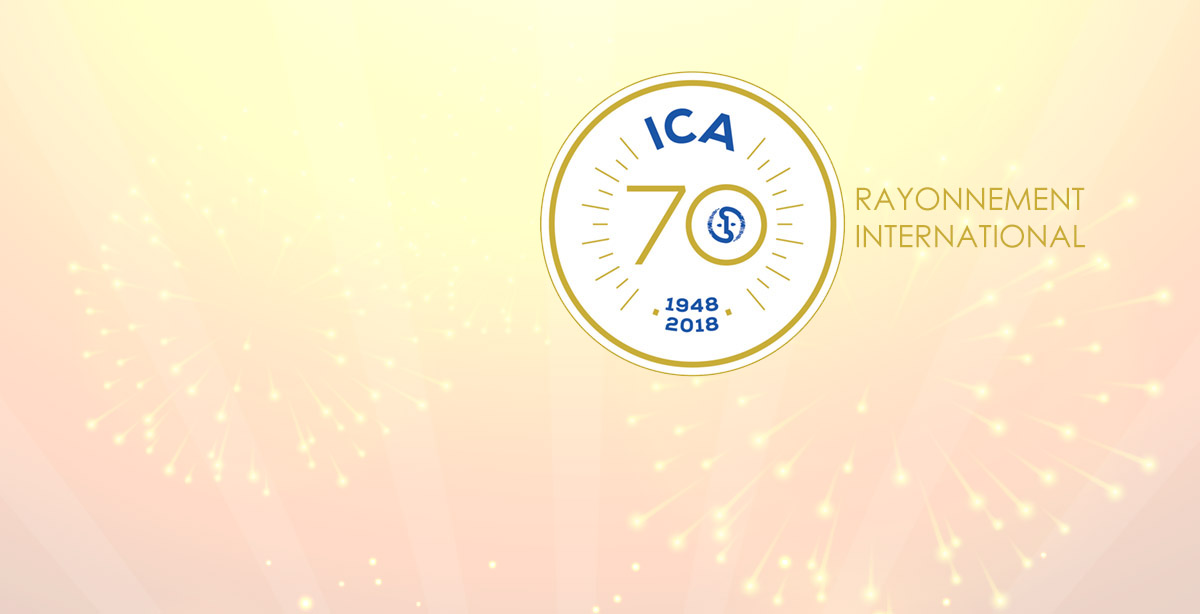 ICA: 70 YEARS OF INTERNATIONAL INFLUENCE